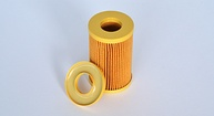 Oil filter glueing